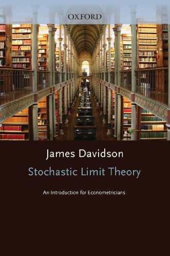 Stochastic Limit Theory: An Introduction for Econometricians (Advanced Texts in Econometrics) (English Edition)