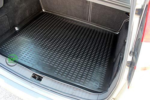 J&J AUTOMOTIVE Premium Antirutsch Gummi-Kofferraumwanne für Focus II Kombi 2005-2010
