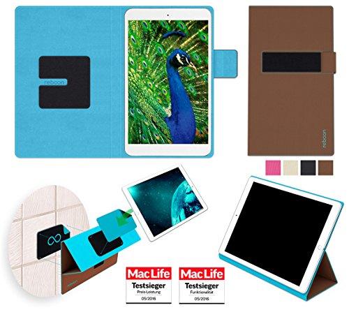 Hülle für Blaupunkt Polaris 808 Tasche Cover Hülle Bumper | in Braun | Testsieger