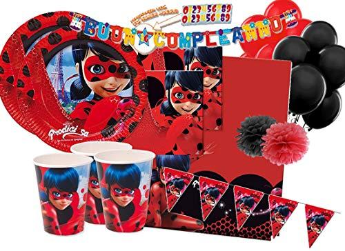 Verbetena IRPot - Kit N 54 Ladybug - PRODIGIOSA - Miraculous ADDOBBI Festa Compleanno