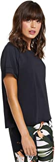 Rockwear Activewear Women's Autumn Haze Active Tee Black 14 from Size 4-18 for T-Shirt Tops
