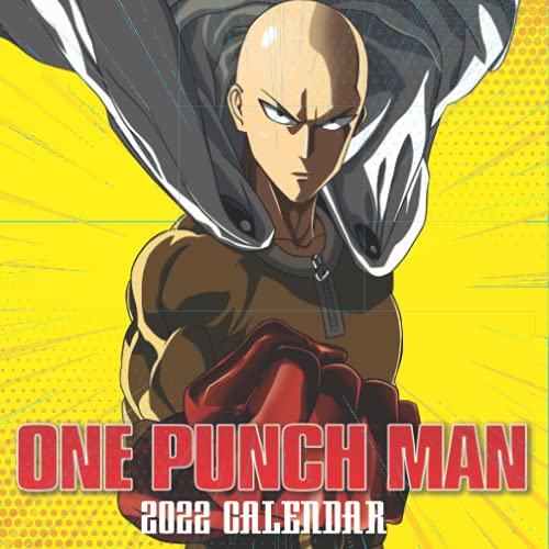 One-Punch Man 2022 Calendar: 18-month Mini Grid Monthly Yearly Calendar for all ages and genders