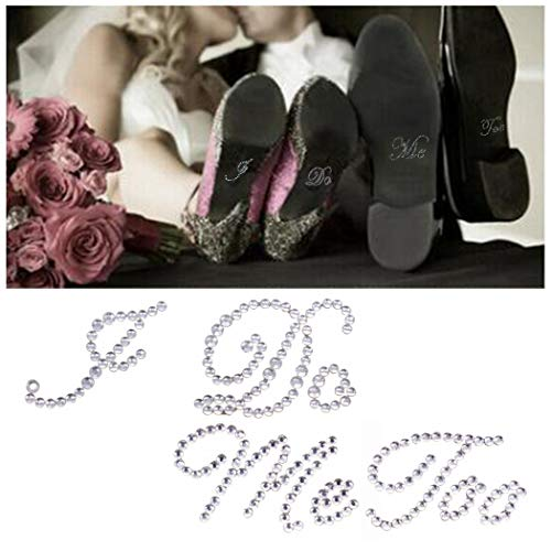 Justdolife 2 Hojas Etiqueta Engomada del Zapato De La Boda Moda Decorativa...