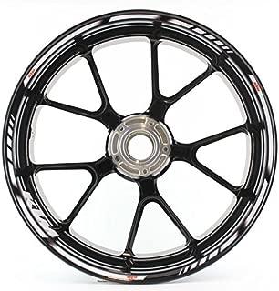 NEW KTM RIM DECALS STICKER KIT ORANGE FITS ALL 125-530 CC 1998-2012 78009099000
