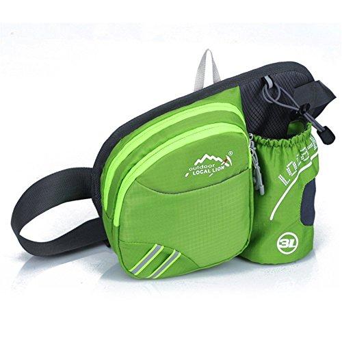 lazutom Ride Unisexe Sport Marche Randonnée Camping taille sac sac banane bumbags