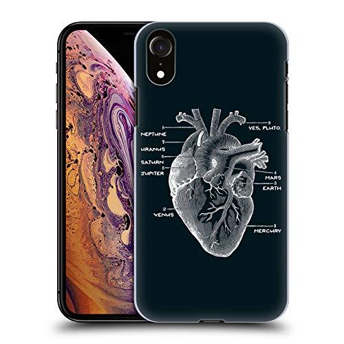 Head Case Designs Ufficiale Tobe Fonseca Astri Cuore Anatomia 2 Cover Dura per Parte Posteriore Compatibile con Apple iPhone XR