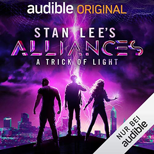 Couverture de Stan Lee's Alliances - A Trick of Light (German Edition)