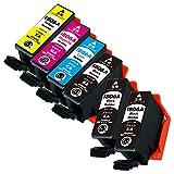IB06 (KA×3/CA/MA/YA)【4色+KA2本 計6本セット】エプソン用 純互換インクカートリッジ 残量表示対応 最新ICチップ 対応機種: PX-S5010 PX-S5010R1 メガネ IB06CL5A IB06KA IB06CA IB06MA IB06YA 【商品1年保証】Morishop製