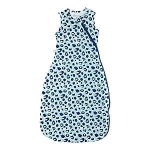 Tommee Tippee The Original Grobag Saco de Dormir, Multicolor (Leopardo Azul), 6-18 Meses (8.16–11.34 kg/65-80 cm)