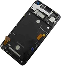 UFIXBEST Complete LCD Display Touch Screen Glass Panel Digitizer Assembly + Frame Replacement Repair Parts For HTC One Big M7 802t 802d 802w Dual Sim Card Black