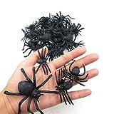 kockuu 46pcs Realistic Plastic Spider Toys...