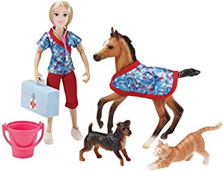 Breyer Classics Day at The Vet Doll & Animals Set (1:12 Scale)