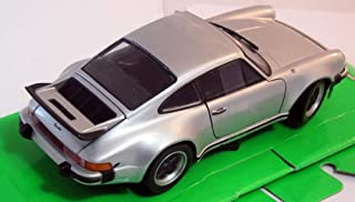 Porsche 911 Turbo 3.0, silver, 1974, Model Car, Ready-made, Welly 1:24