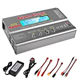 Haisito 80W 6A Lipo Battery Balance Charger Discharger for LiPo/Li-ion/LiFe Battery (1-6S), NiMH/NiCd