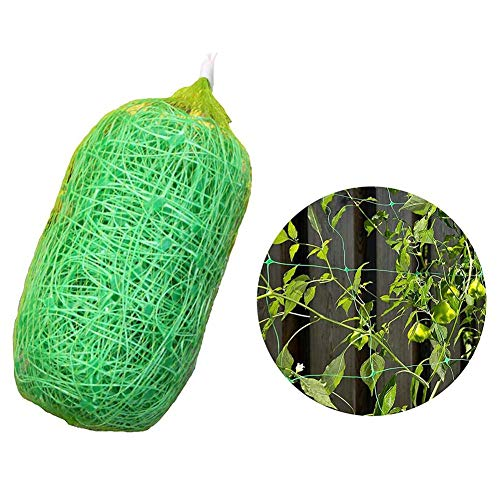 Oddity Garden Mesh Green Netting Kit, Gartengestaltung Rankhilfen Pflanzennelonen-Kletternetzgitter, 2 x 6M