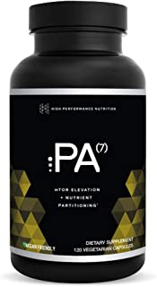 PA(7) Phosphatidic Acid Muscle Builder by HPN | Top Natural Muscle Builder - Boost mTOR | Build Mass and Strength from Your Workout | 30 Day Supply