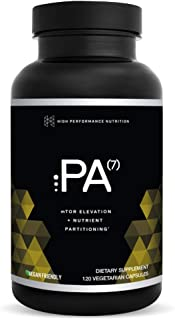 PA(7) Phosphatidic Acid Muscle Builder by HPN| Top Natural Muscle Builder - Boost mTOR | Build Mass and Strength from Your Workout | 30 Day Supply