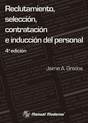 Reclutamiento, selección, contratación e inducción del persona