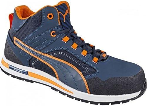 PUMA Safety Cross Twist Mid S3 HRO SRC Work Shoe Safety Shoe ...