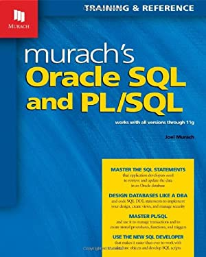 Murach's Oracle SQL and PL/SQL (Training & Reference)