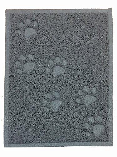 ANDALUS Cat Litter Mat, Gray, Small (15.75