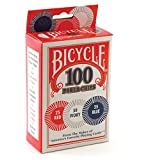 Bicycle Poker Chips–100Count con 3Colores