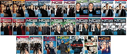 Navy CIS / NCIS Staffel 1 bis 16 (1.1 - 11.2 + 12 + 13 +14 +15+16) im Set - Deutsche Originalware [96 DVDs]