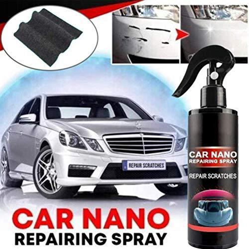 Auto Kratzer Reparatur Nano Liquid Spray, Nano Spray Auto gegen Kratzer, Kratzerentfernungsspray Keramikbeschichtung Autolack-Dichtmittel, Schnelle Reparatur von Autokratzern