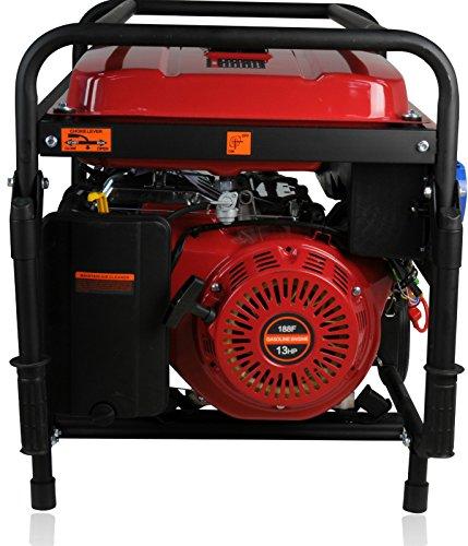 Kraftherz 5KW 3phase Gasoline Generator, rot
