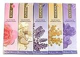 Charrier Parfums Gamme Provence Pack de 5 Sprays Eau de Toilettes Lavande/Rose/Jasmin/Mimosa/Violette 30 ml