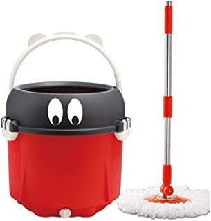 Mop and Bucket Set, Red