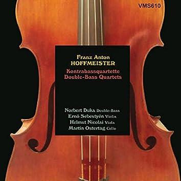 Hoffmeister: Double-Bass Quartets