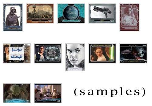 2013 Topps Star Wars Galactic Files Series (2) Hobby Box image