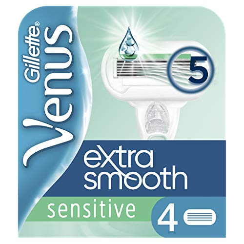 Gillette for Women Venus Extra Smooth Sensitive Systemklingen 4er