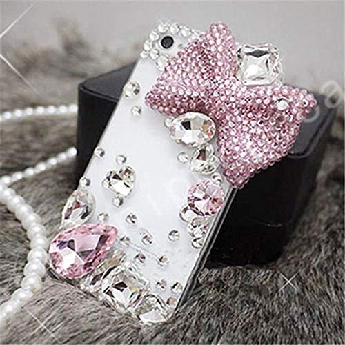 LIUYAWEI Estuche con Diamantes de imitación para iPhone 12 11 Pro XR XS MAX Luxury Bling Shell Estuche con Joyas para teléfono Suave para iPhone 6 7 8 Plus, 1,7plus 8plus 5.5inch