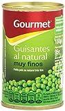 Gourmet - Guisantes al natural - muy finos - 95 g - [Pack de 24]...