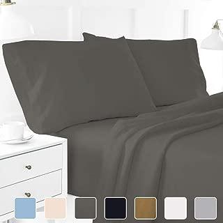 600TC Super Soft Quality Egyptian Cotton 4PC Sheet Set 24