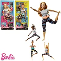 Barbie- Endless Moves Doll Assortment muñeca Movimiento sin límites30cm, Multicolor (Mattel FTG80)