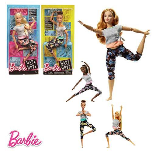 Barbie–Bambola Movimento Senza límites30cm, Multicolore (Mattel ftg80)