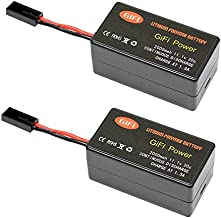 MaximalPower Gifi Power LiPo Battery or Charger for Parrot AR.Drone 2.0 & 1.0 Quadricopter (2 Battery 2000mAh)