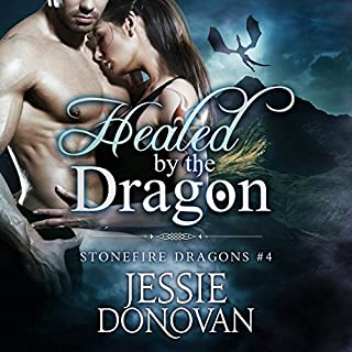 Healed by the Dragon audiobook cover art
