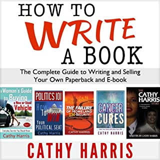 How to Write a Book cover art