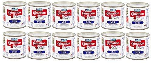 CARNATION Vitamin D Added Evaporated Milk 5 fl. oz.(Pack of 12)