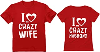 Couples Shirts Husband and Wife Shirts for Couples His and Hers Matching Set
