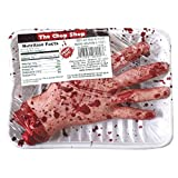 """Amscan Chopped Hand Meat Market Shop Value Pack Halloween Party Decoration, Brown/Red, 8 1/2 x 5 1/2 x 2 8 1/2"""" x 5 1/2"""" x 2"""""""