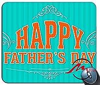 ZMvise父の日挨拶ファッション漫画マウスパッドマットカスタム四角形ゲームマウスパッド