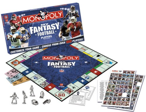 MONOPOLY: My Fantasy NFL Players Edition - NFL by USAopoly: Amazon.es: Juguetes y juegos