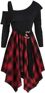 Robe Femme Ann/ée 40 50 60 Robe Femme Sangle Gothique Punk sans Bretelles Robes Soir/ée Vintage 1950s Audrey Hepburn Pin-up Lonshell