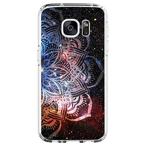 18eay Compatibile per Samsung Galaxy S6 Edge Cover Trasparente Silicone Antiurto Custodia Soft Ultra Sottile Protettiva Cover Anti-Scratch TPU Gel Bumper Case per Galaxy S6 Edge