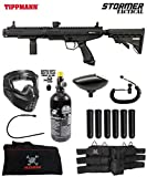 Maddog Tippmann Stormer Tactical Corporal HPA Paintball Gun Marker Starter Package - Black